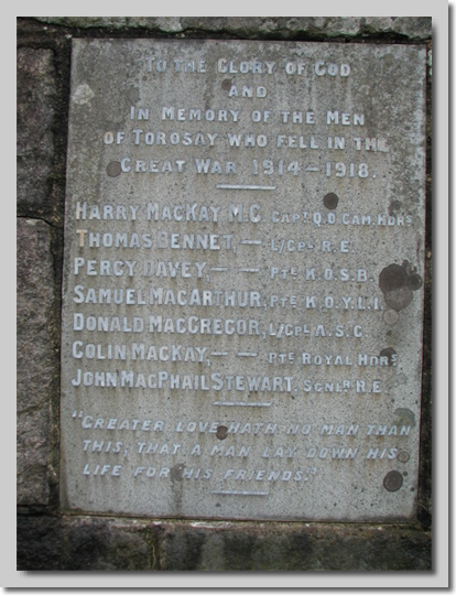 Detail of plaque.